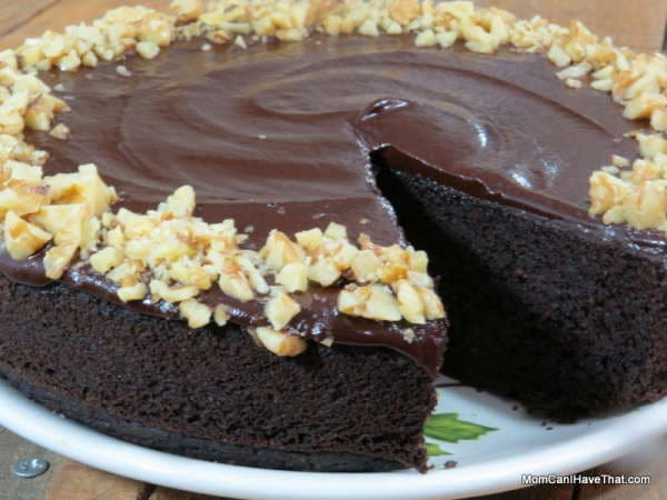 Chocolate Walnut Cake Images : Chocolate Walnut Cake is lusciously moist. The simple ...