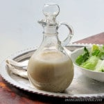 Garlic & Herb Vinaigrette can be made in two minutes flat. Use it to dress salads & vegetables or as a marinade | Low carb, Gluten-free, Dairy-free, Paleo, Keto | lowcarbmaven.com