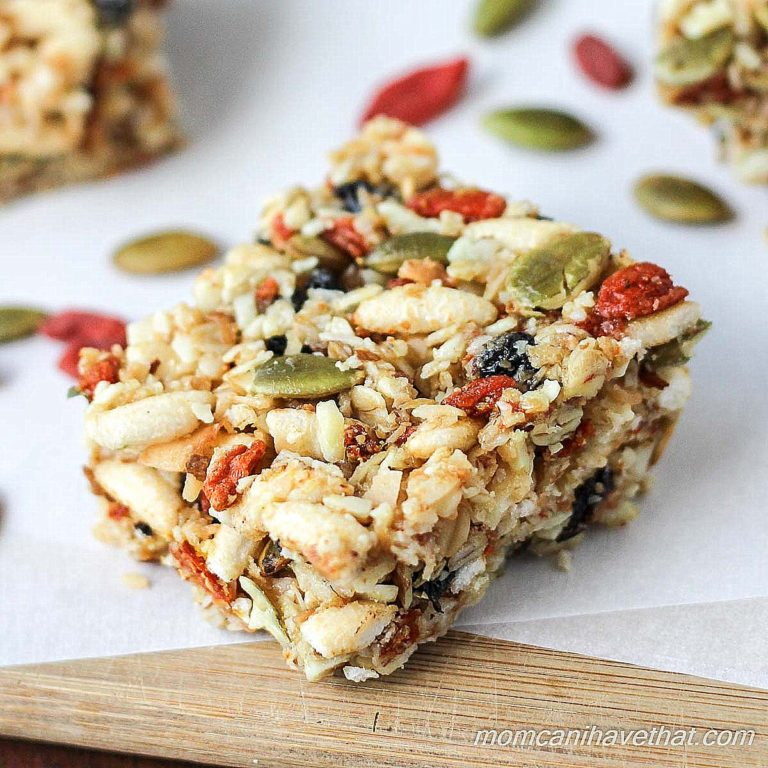 Gluten-Free Kitchen Sink Snack Bars | Low Carb Maven