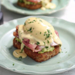 Poached Egg on Avocado Toast with Blender Hollandaise | Low Carb, Gluten-free, Keto, THMS | lowcarbmaven.com