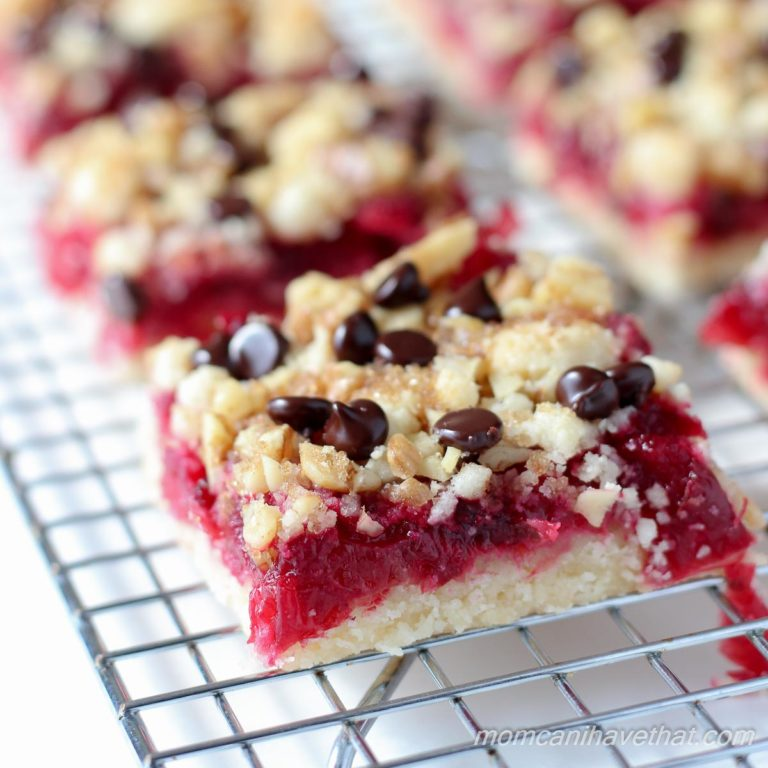 Cranberry Curd Bars With Walnut Shortbread Crust Recipes — Dishmaps