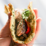 Healthy baked Zucchini Tortillas for soft tacos and fajitas.   low carb, gluten-free, keto, thm   lowcarbmaven.com