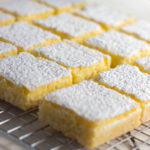 Low Carb Lemon Bars full of bright, lemony flavor are a ketogenic dieter's dream! | Low carb, Gluten-free, Keto, THM