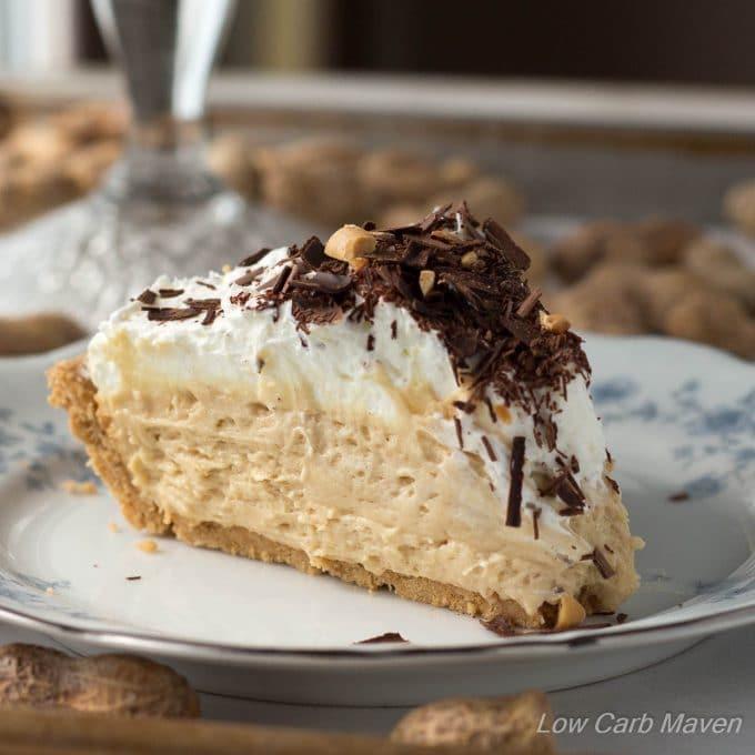Low Carb Peanut Butter Pie Low Carb Maven