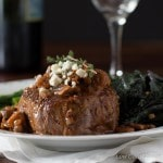 Romantic Filet Mignon Dinner for Two takes about 30 minutes to prepare and is a great low carb meal. | Low Carb, Gluten-free., Primal/Paleo, Keto, THM
