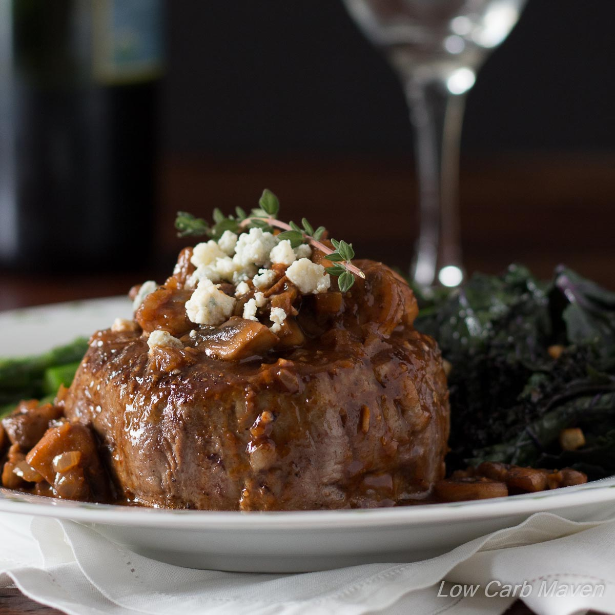 Romantic Filet Mignon Dinner for Two | Low Carb Maven