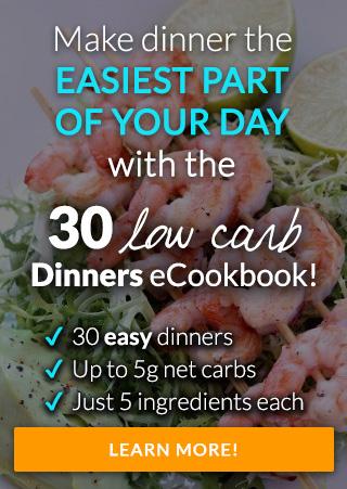 tasteaholics 30 low carb dinners