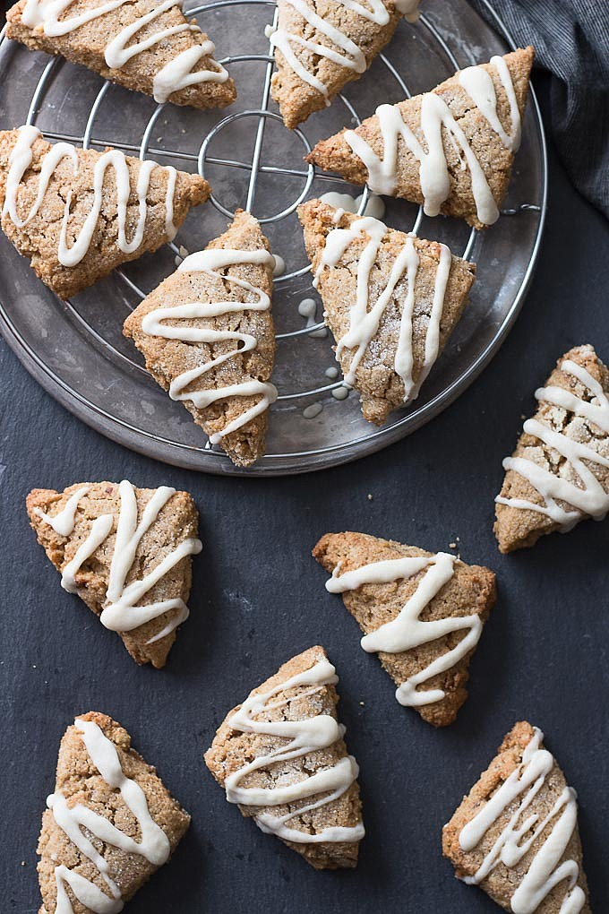 Low Carb Maple Walnut Scones for Ketogenic Diets - Low Carb Maven