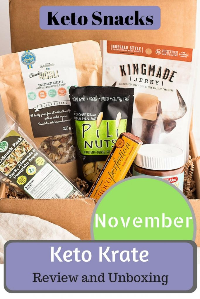 Keto Krate Review & Unboxing (November) | Low Carb Maven