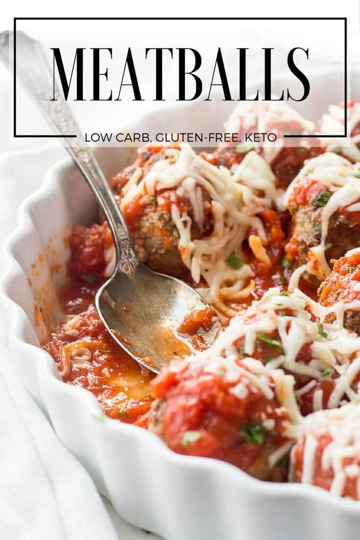 Mom S Low Carb Meatballs Recipe Italian Style Keto