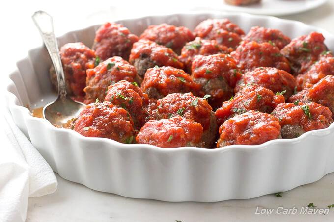 recipe: no carb meatballs and sauce [6]