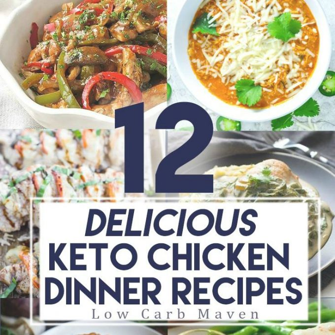 12 Keto Chicken Recipes You'll Want to Make All Year | Low Carb Maven