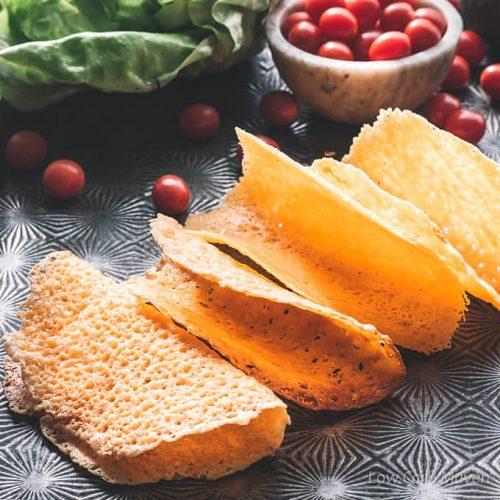 Crispy Cheese Taco Shells (Low Carb Keto Taco Shells)