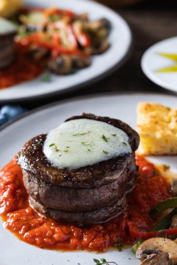 Filet Mignon Steak Pizzaiola