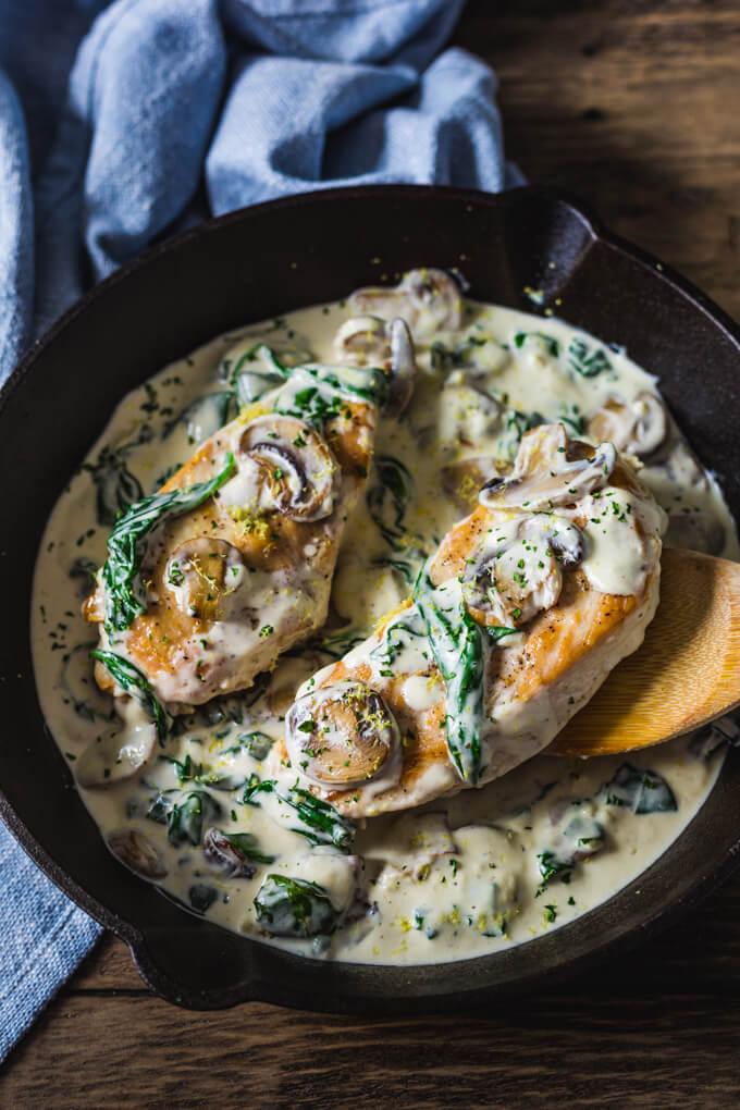 Keto Chicken Florentine Recipe