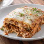 Keto Eggplant Lasagna with Meat Sauce